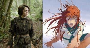 Así se vería Arya Stark en 'X-Men: New Mutants' como Wolfsbane