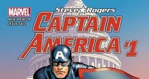 """""""Captain America: Steve Rogers"""" dibujado por Jesús Saiz para los cómics de Marvel"""