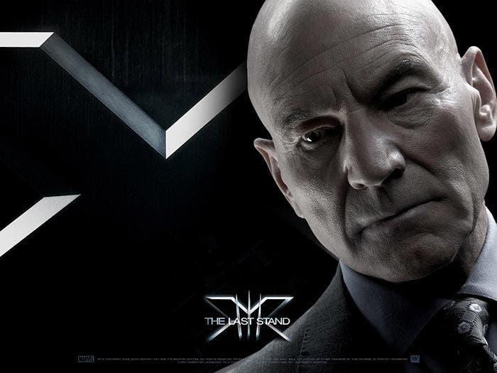 Charles Xavier en 'Logan' sin pelo