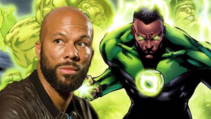 Common Renews como John Stewart en 'Green Lantern Corps'