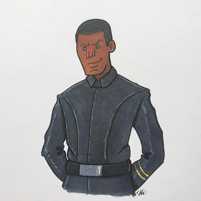 Finn en SPOILERS 'Star Wars: The Last Jedi'