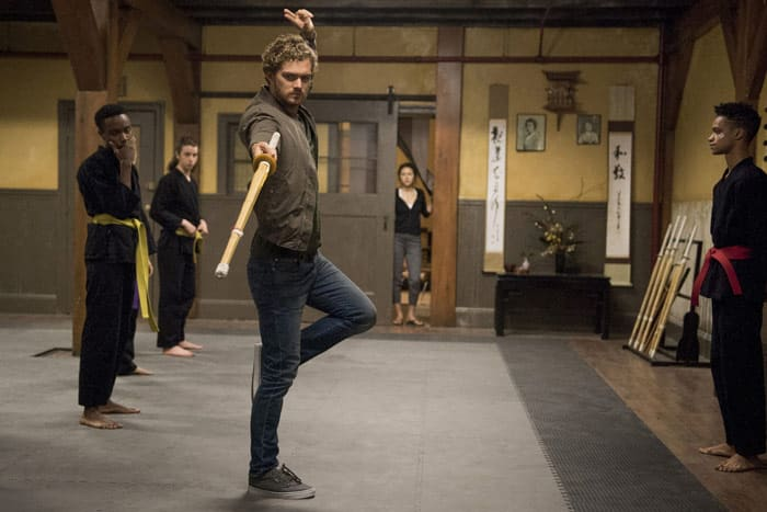 Iron Fist de Marvel Netflix