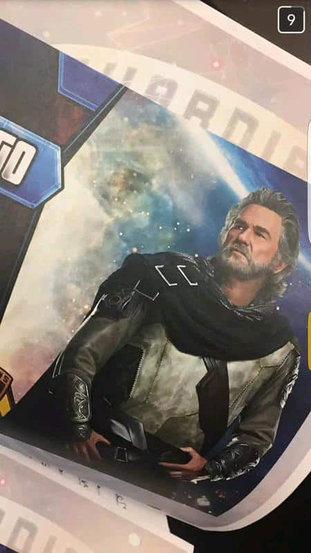 Kurt Russell como EGO en Guardianes de la Galaxia Vol. 2