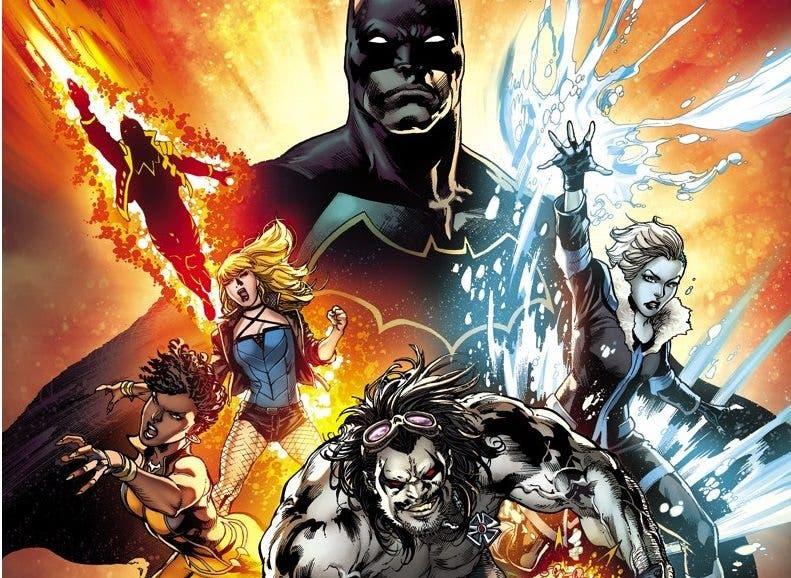 Batman nueva Liga de la Justicia de América Cinemascomic