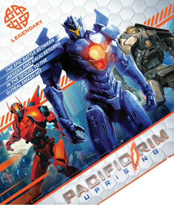 Nuevos Jaegers de 'Pacific Rim 2: Uprising'