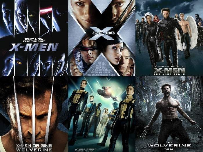 Películas X-Men