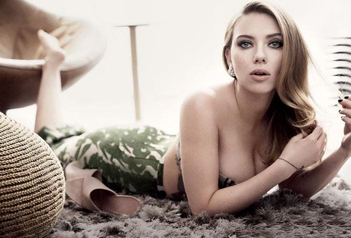Scarlett Johansson posa hot sex en promoción de 'Ghost in the Shell'