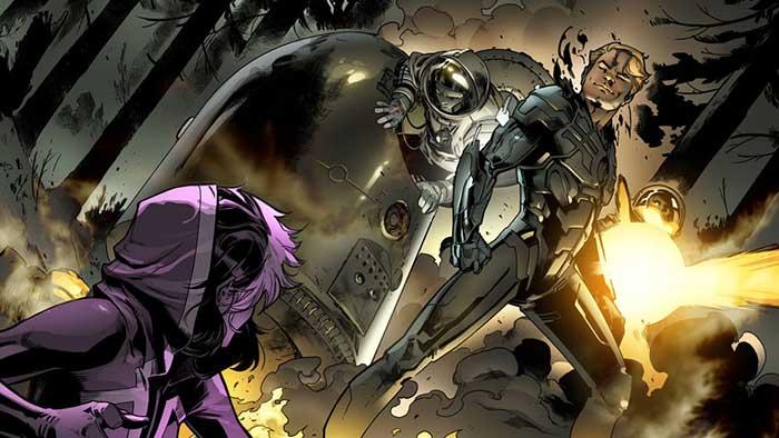 """Uncanny Avengers"" dibujado por Pepe Larraz para los cómics de Marvel"