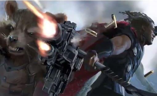 Concept art de Vengadores Infinity War Cinemascomics