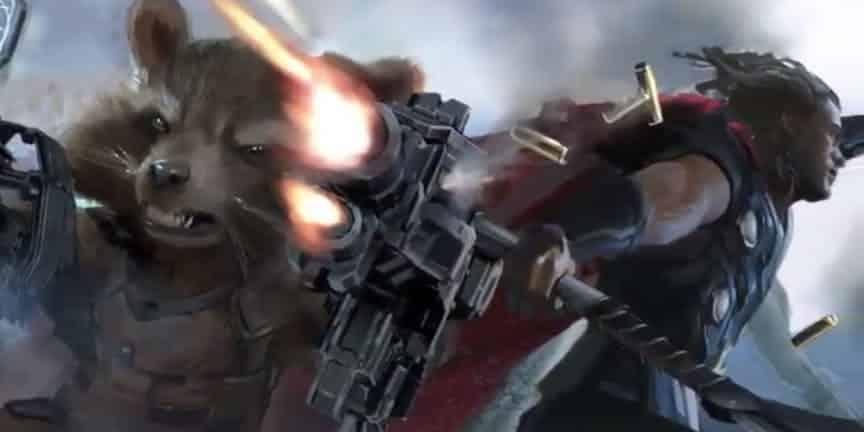 Thor tendrá una nueva y poderosa arma en Vengadores: Infinity War (2018)