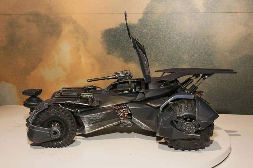 nuevo batmóvil de Batman en la 'Liga de la Justicia'