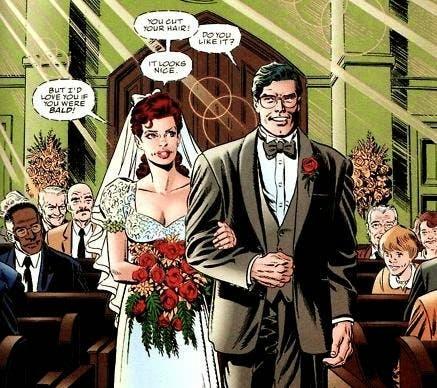 Boda de Lois y Clark