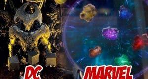DC vs Marvel con las Cajas Madre y las Gemas del Infinito en 'Liga de la Justicia' y 'Vengadores: La Guerra del Infinito'