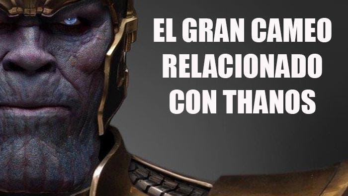 cameo de Thanos en 'Vengadores: La Guerra del Infinito'