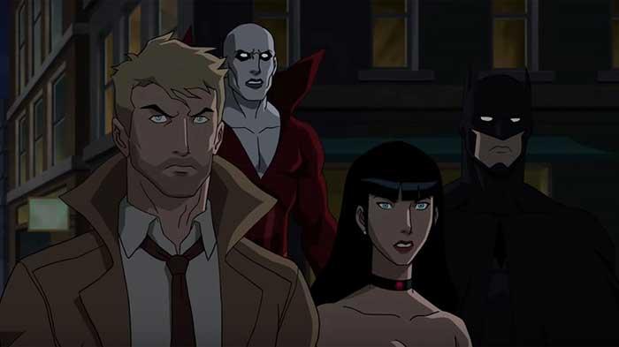 crítica 'Justice League Dark' película de animación