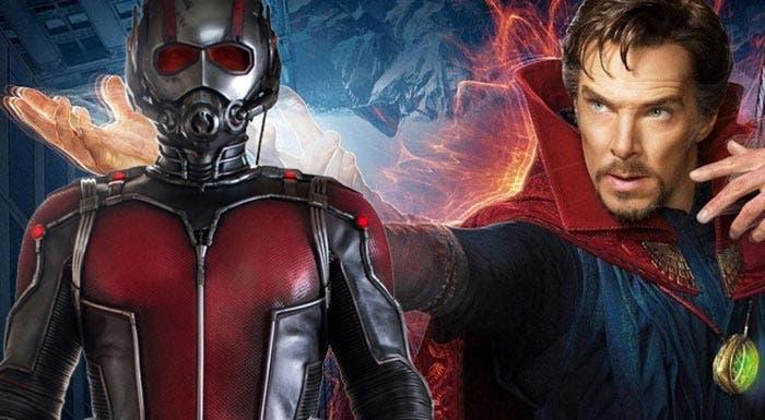 easter egg de 'Doctor Strange' relacionado con Ant-Man