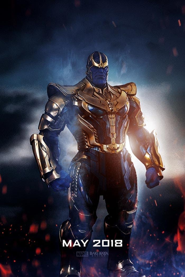 El fan póster de 'Vengadores: Infinity War' que ha revolucionado Internet