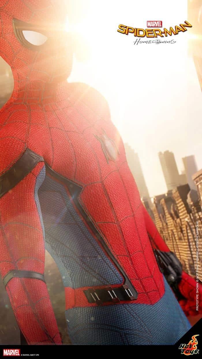 Primera imagen de la figura Hot Toys de 'Spider-Man: Homecoming'
