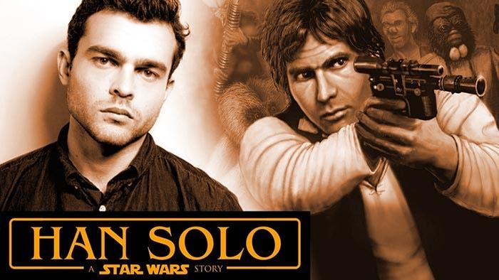 película de 'Han Solo' de Star Wars 2018