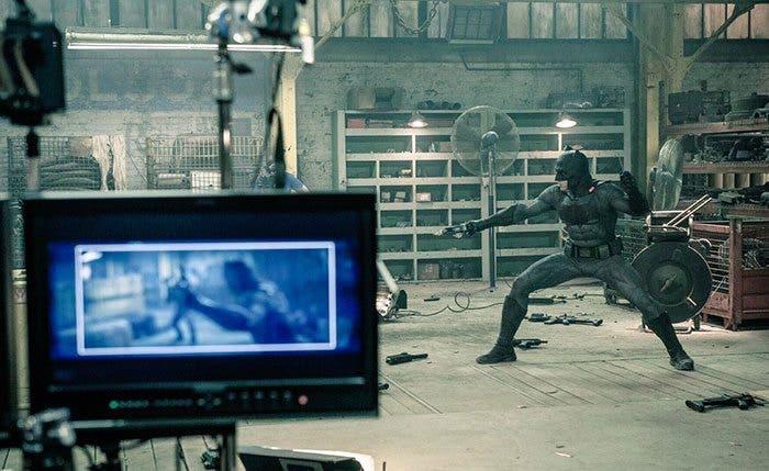 imagen detrás de las cámaras de 'Batman v Superman'