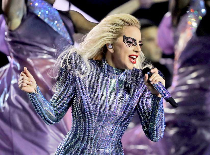 lady gaga en la superbowl