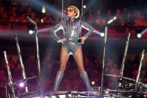 lady gaga en la superbowl