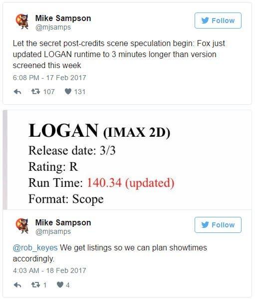 ¿Habrá escena post-créditos en 'Logan'?
