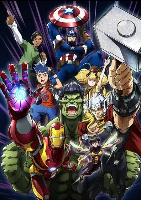 Los Vengadores contarán con una nueva serie anime y un manga