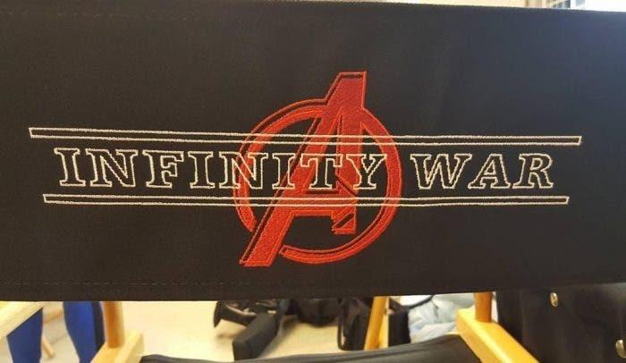 nuevo logo de 'Vengadores: La Guerra del Infinito'