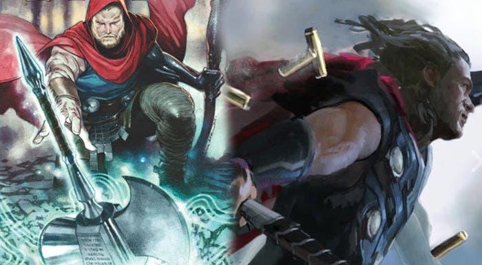 nuevo martillo de Thor en 'Vengadores: Infinity War'