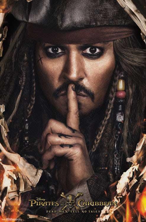 piratas del caribe jack sparrow