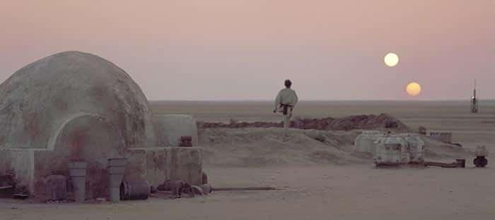 planetas de Star Wars Tatooine