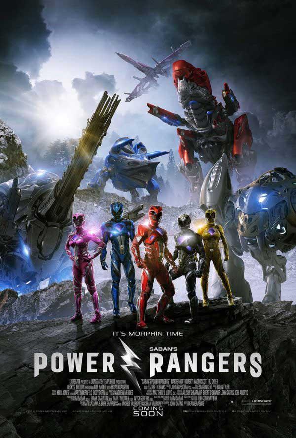 poster de power rangers