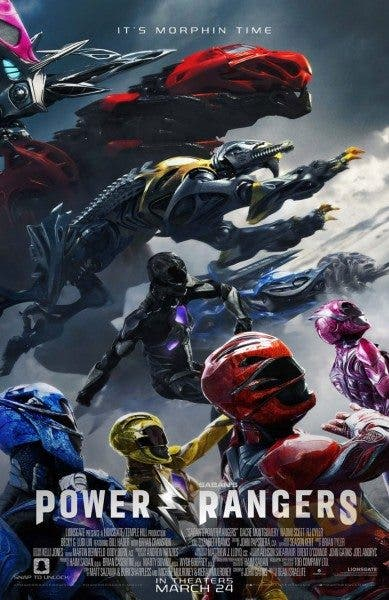 póster final de Power Rangers
