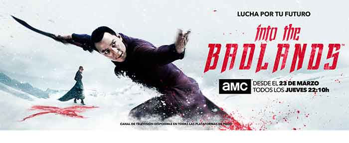 póster en horizontal de la segunda temporada de 'Into the Badlands'