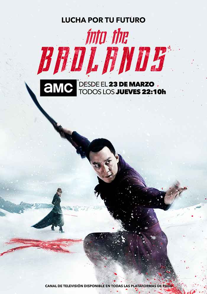 póster en vertical de la segunda temporada de 'Into the Badlands'