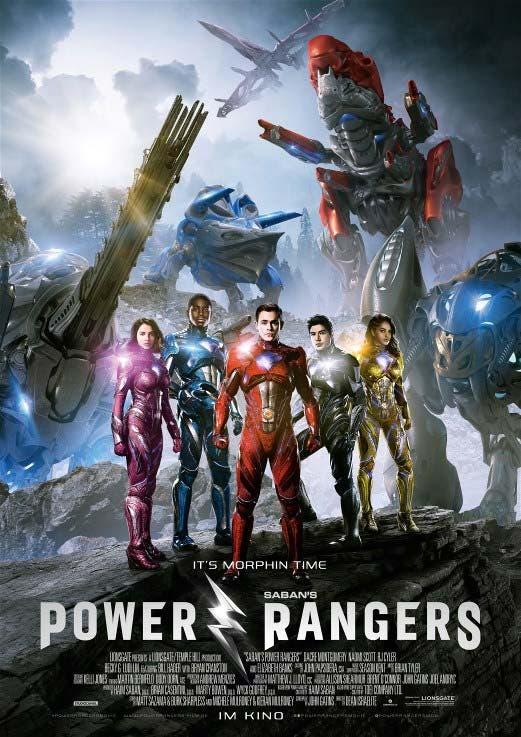 Revelada la duración oficial del reboot de 'Power Rangers'