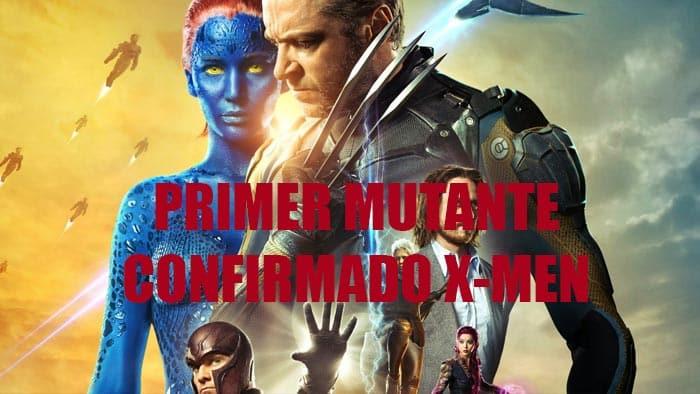 primer mutante confirmado para la próxima película de X-Men