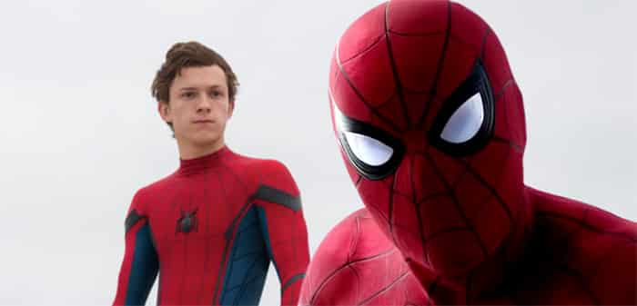 reacción de Tom Holland al tráiler de 'Spider-Man: Homecoming'