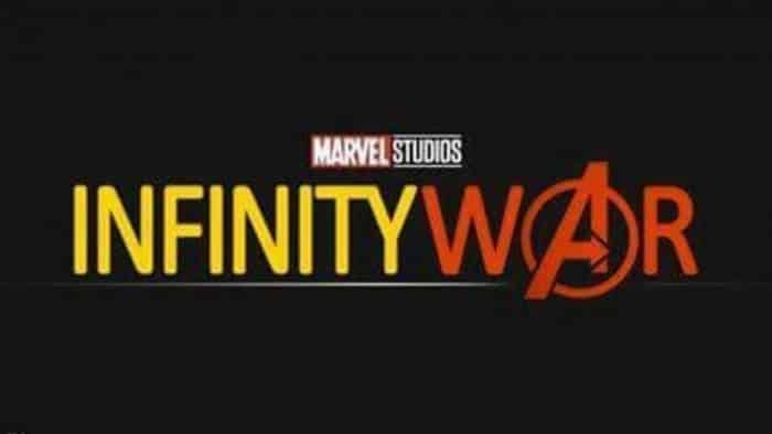 tercer logo de 'Vengadores: La Guerra del Infinito'