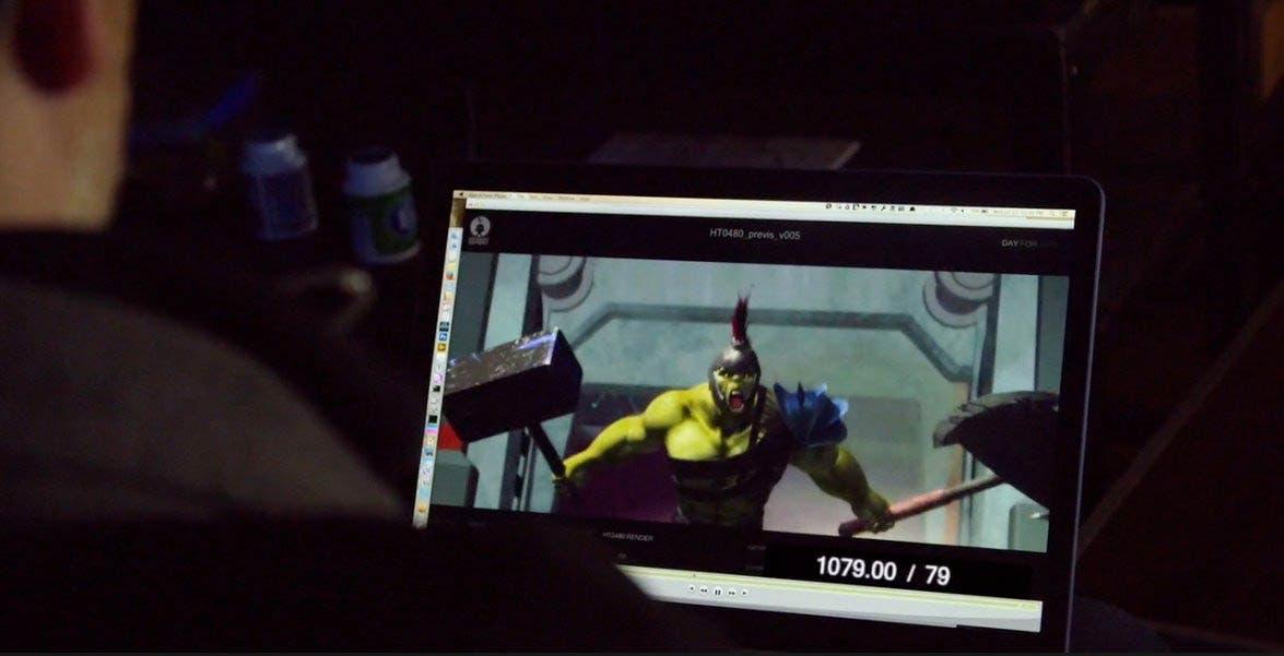 Hulk en 'Thor: Ragnarok'