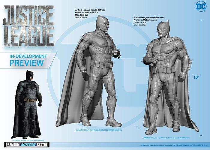 traje táctico de Batman en la 'Liga de la Justicia'