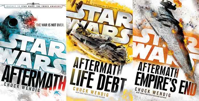 trilogía de novelas Star Wars: Aftermath