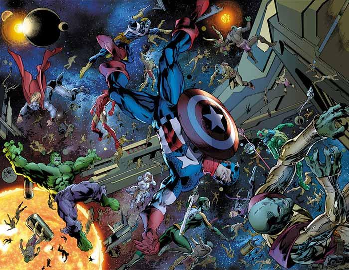 Primera imagen de los Vengadores con los Guardianes de la Galaxia