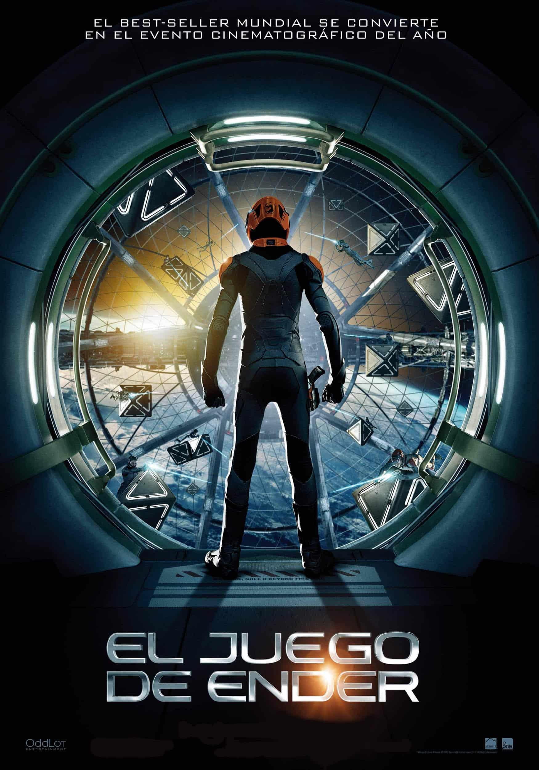 Poster de 'El juego de Ender'