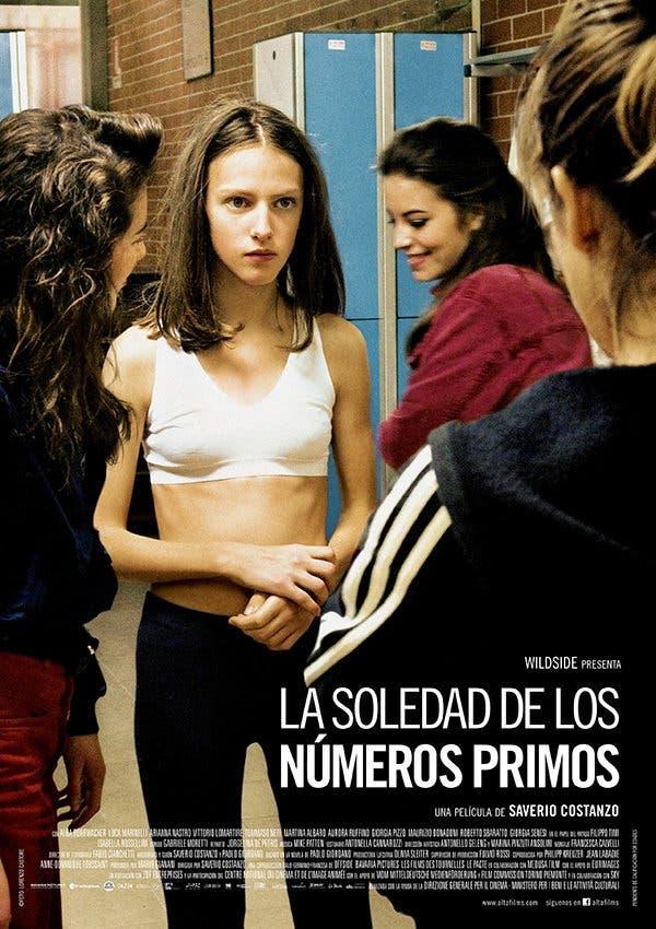 Poster de 'La soledad de los números primos'