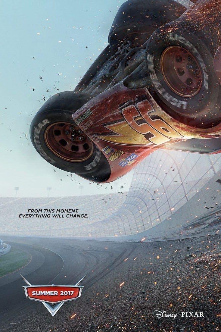 Poster de 'Cars 3'