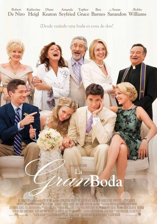 Poster de 'La gran boda'