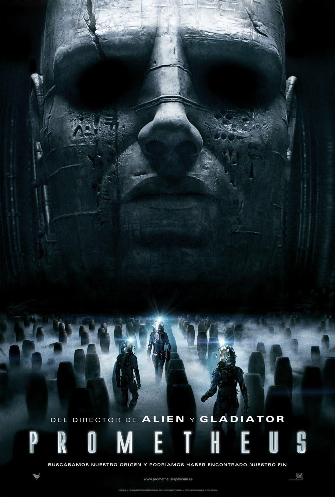 Poster de 'Prometheus'