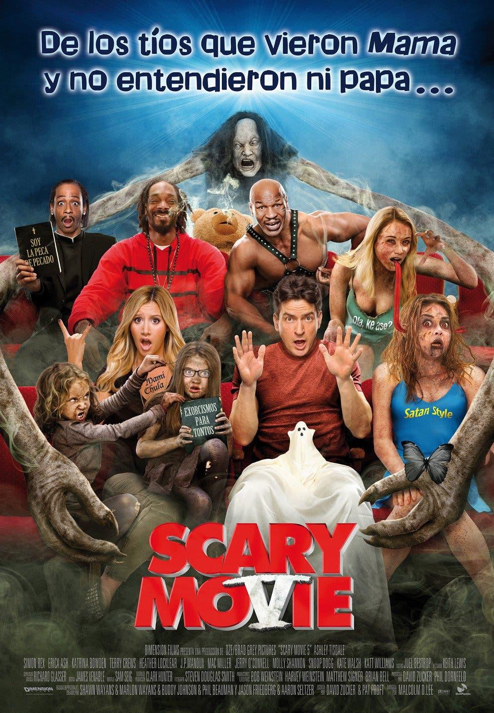 Poster de 'Scary Movie 5'